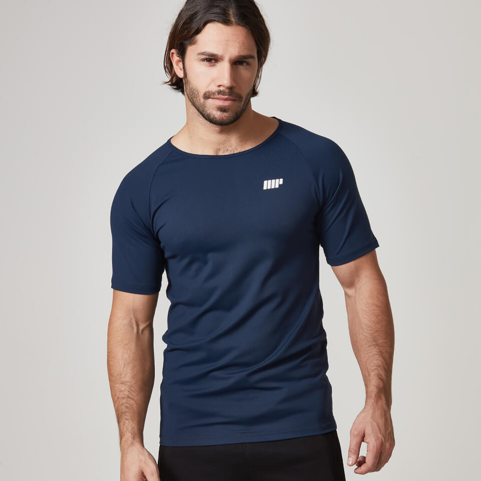 Dry-Tech T-Shirt - Navy, XXL