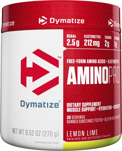 Dymatize Amino Pro - 30 Servings Lemon Lime
