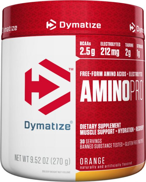 Dymatize Amino Pro - 30 Servings Orange