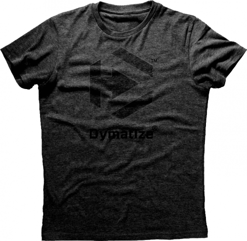 Dymatize Basic Logo T-Shirt - Charcoal Medium