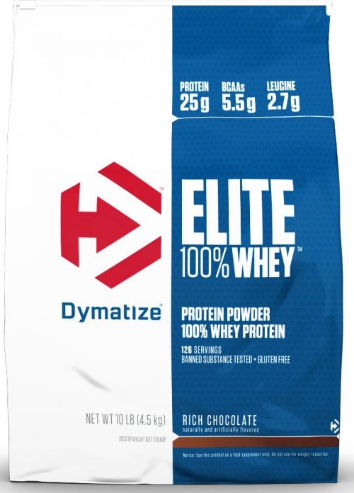 Dymatize Elite 100% Whey - 10lbs Strawberry Blast