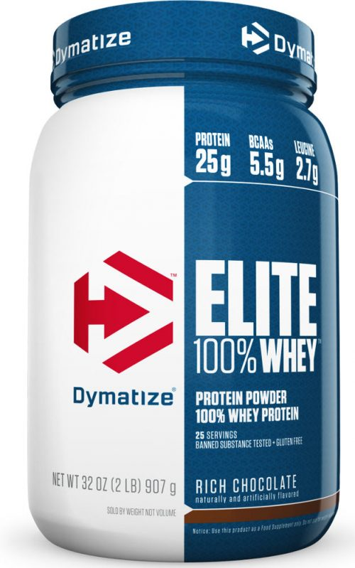 Dymatize Elite 100% Whey - 2lbs Chocolate Fudge