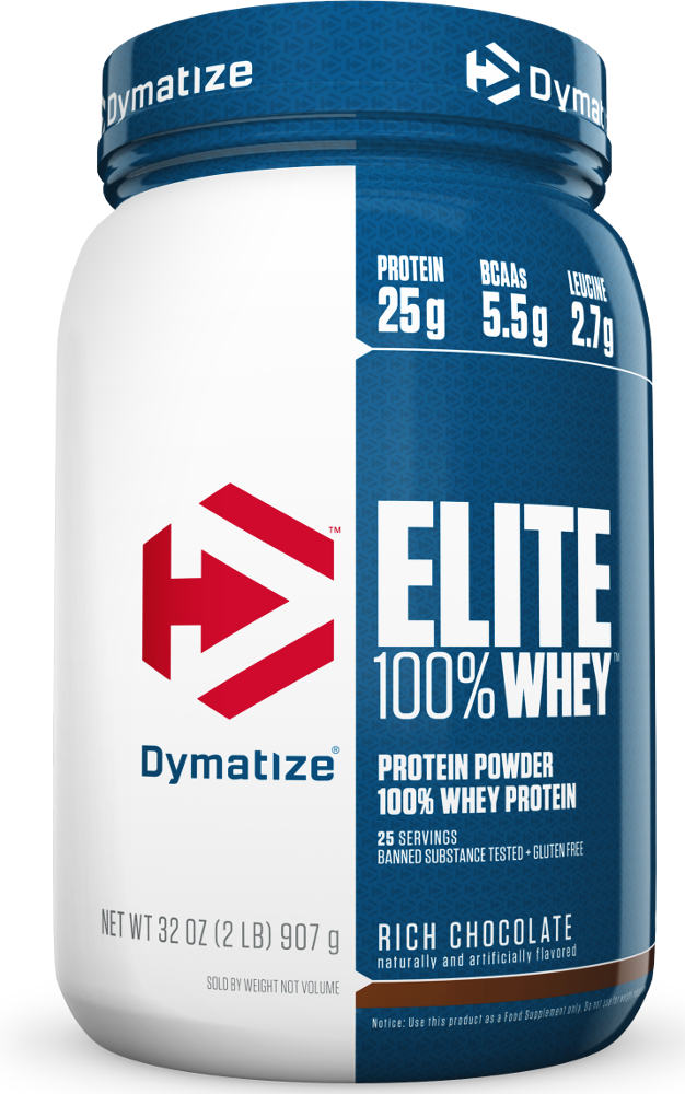 Dymatize Elite 100% Whey - 2lbs Chocolate Fudge