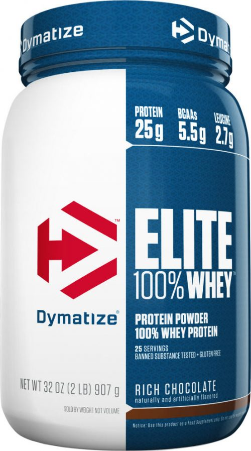 Dymatize Elite 100% Whey - 2lbs Rich Chocolate