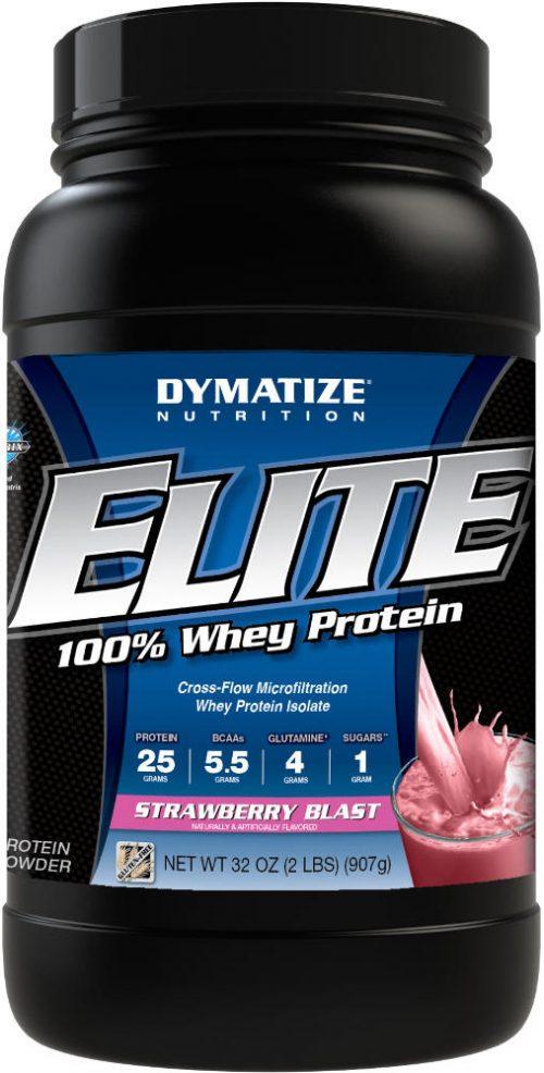 Dymatize Elite 100% Whey - 2lbs Strawberry Blast