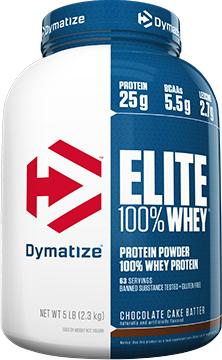 Dymatize Elite 100% Whey - 5lbs Cafe Mocha