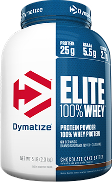 Dymatize Elite 100% Whey - 5lbs Strawberry Blast