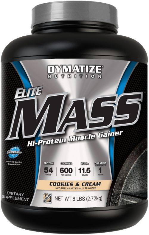 Dymatize Elite Mass - 6lbs Cookies & Cream
