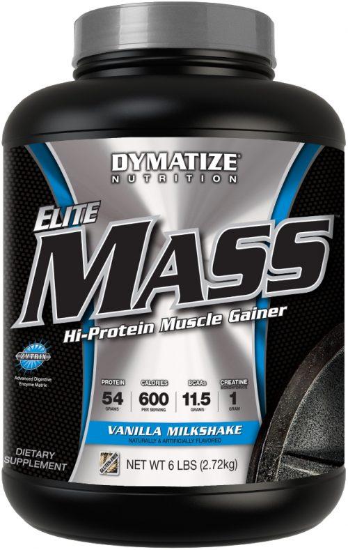 Dymatize Elite Mass - 6lbs Vanilla Milk Shake