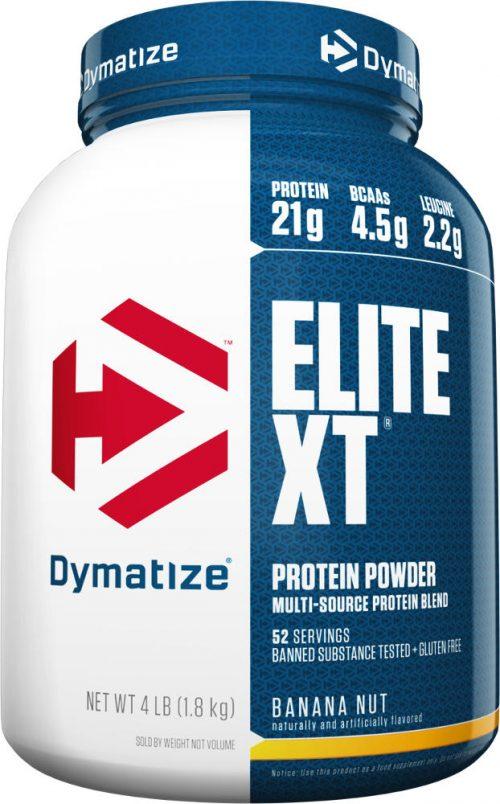 Dymatize Elite XT - 4lbs Banana Nut