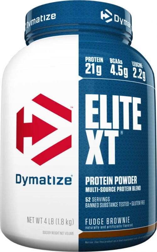 Dymatize Elite XT - 4lbs Fudge Brownie