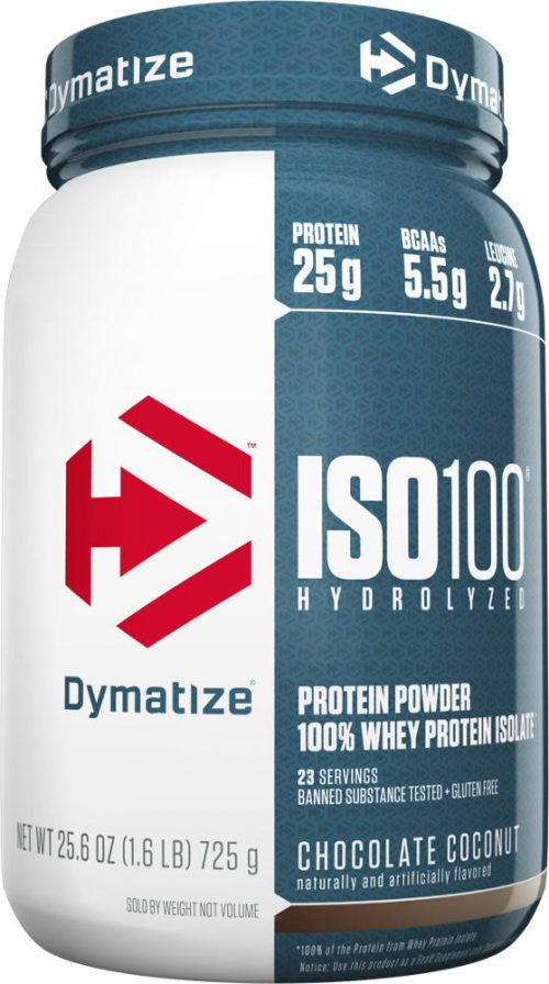 Dymatize ISO100 - 1.6lbs Chocolate Coconut