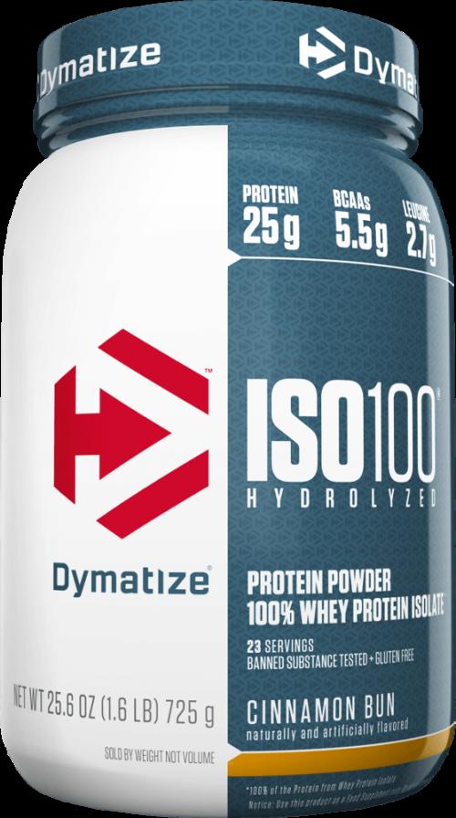 Dymatize ISO100 - 1.6lbs Cinnamon Bun