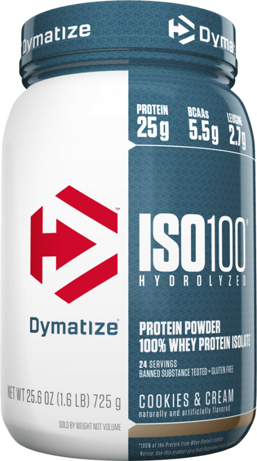 Dymatize ISO100 - 1.6lbs Cookies & Cream