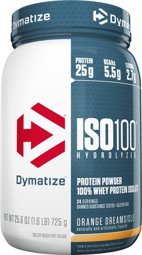 Dymatize ISO100 - 1.6lbs Orange Dreamsicle