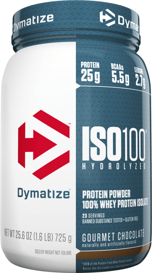 Dymatize ISO100 - 1.6lbs Peanut Butter - NEW