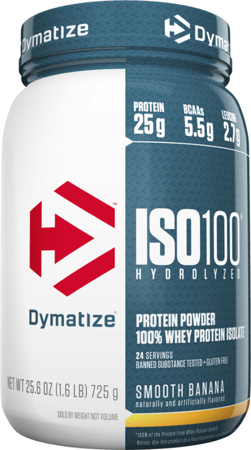 Dymatize ISO100 - 1.6lbs Smooth Banana