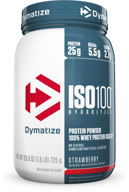 Dymatize ISO100 - 1.6lbs Strawberry