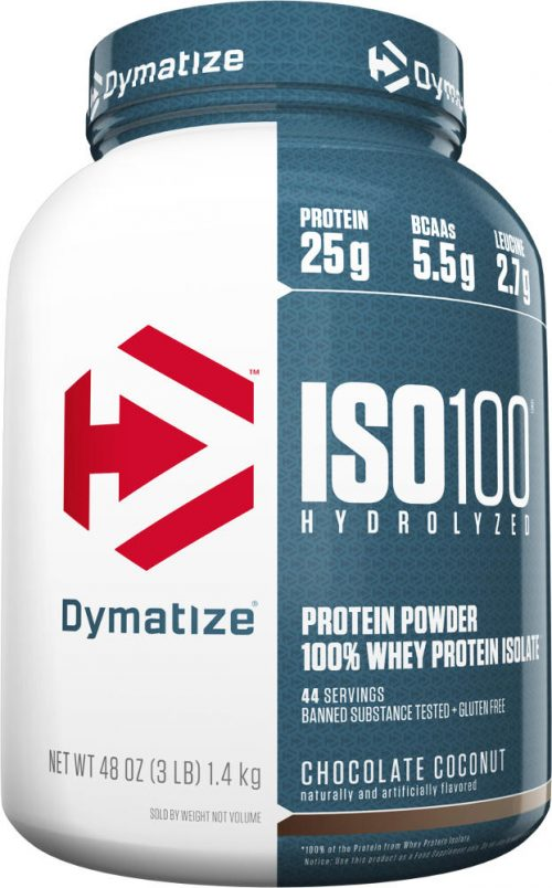 Dymatize ISO100 - 3lbs Chocolate Coconut