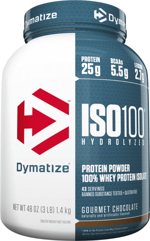 Dymatize ISO100 - 3lbs Chocolate Peanut Butter - NEW