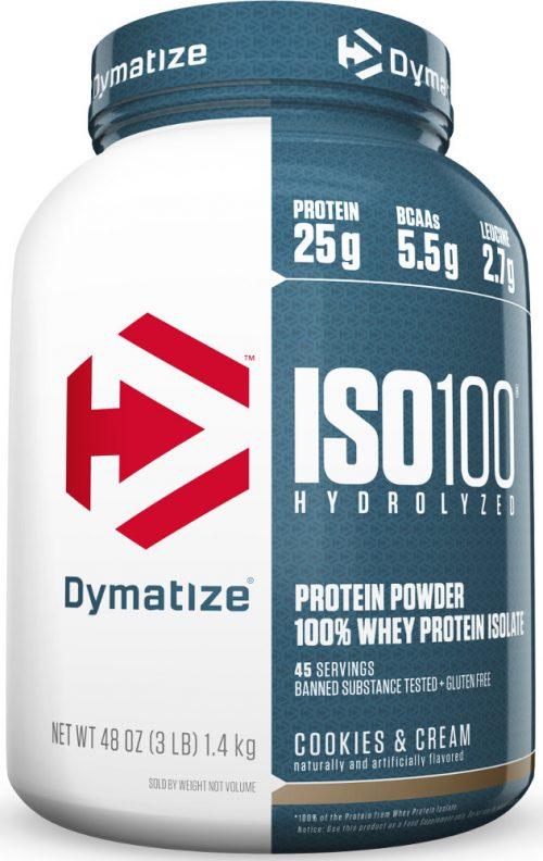 Dymatize ISO100 - 3lbs Cookies & Cream
