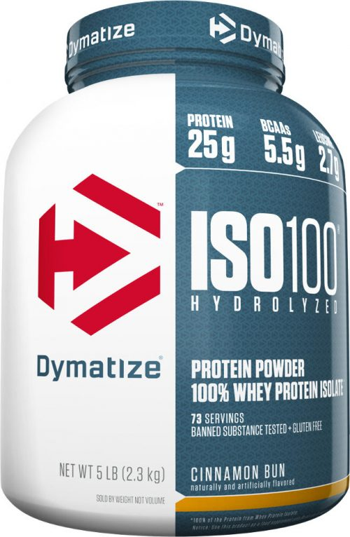 Dymatize ISO100 - 5lbs Cinnamon Bun