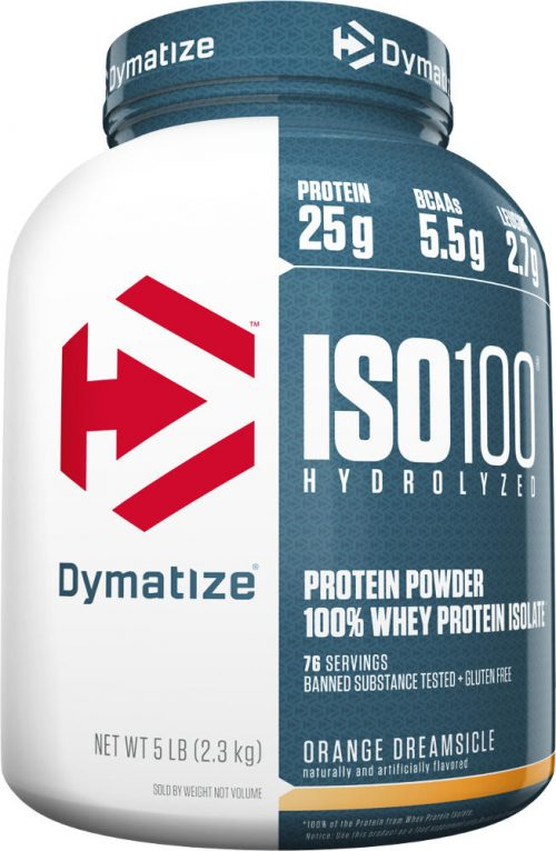 Dymatize ISO100 - 5lbs Orange Dreamsicle