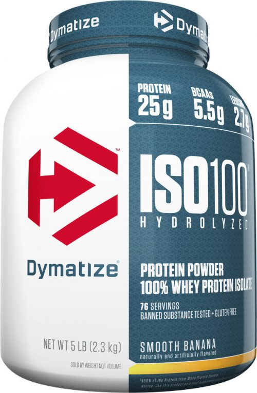 Dymatize ISO100 - 5lbs Smooth Banana
