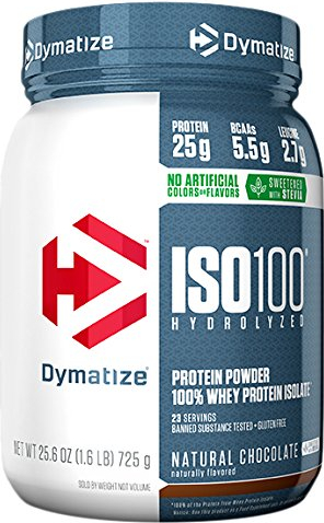 Dymatize ISO100 Natural Series - 1.6lbs Natural Vanilla