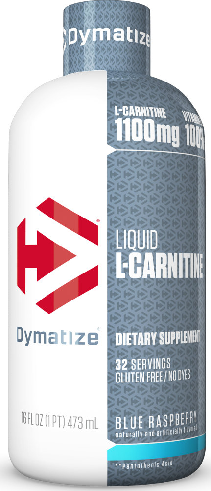 Dymatize Liquid L-Carnitine 1100 - 31 Servings Blue Raspberry