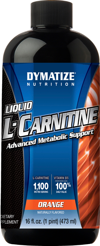 Dymatize Liquid L-Carnitine 1100 - 31 Servings Orange