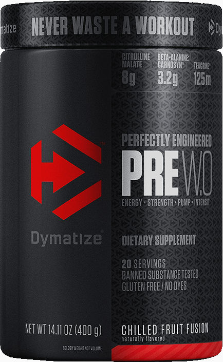 Dymatize PRE WO - 20 Servings Chilled Fruit Fusion