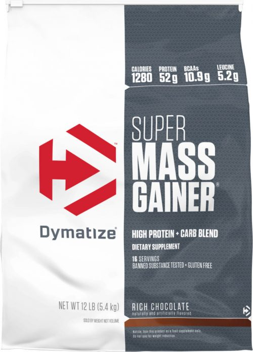 Dymatize Super Mass Gainer - 12lbs Strawberry
