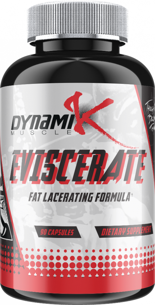 Dynamik Muscle Eviscerate - 90 Capsules