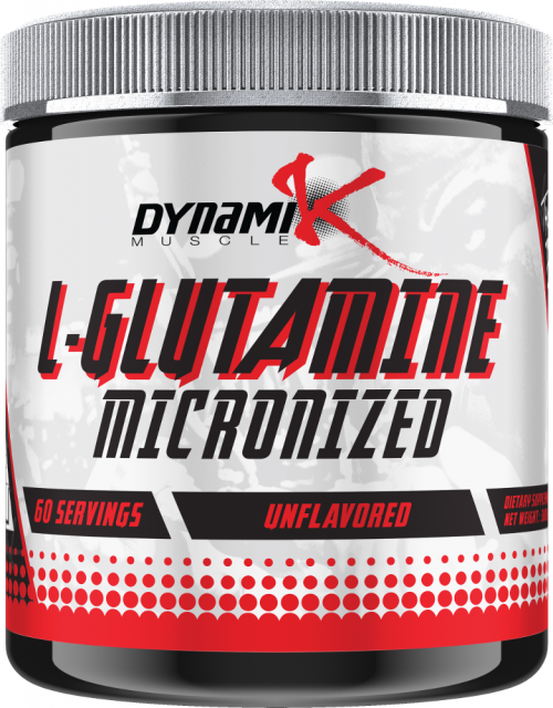 Dynamik Muscle L-Glutamine - 60 Servings Unflavored