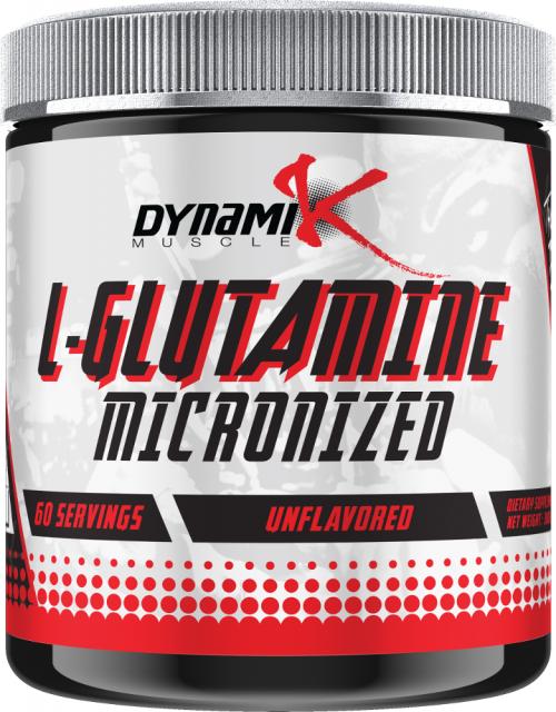 Dynamik Muscle L-Glutamine - 60 Servings Unflavored
