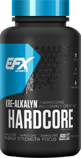 EFX Sports Kre-Alkalyn Hardcore - 120 Capsules