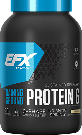 EFX Sports Training Ground Protein 6 - 2.4lbs Vanilla