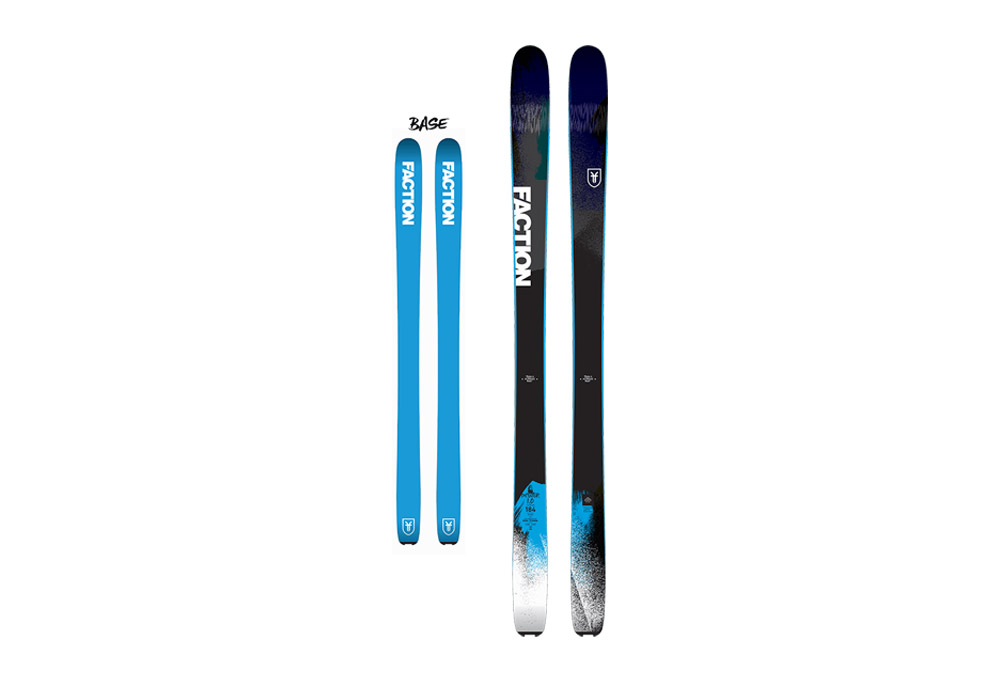 Faction Dictator 1.0 17/18 Skis - multi-color, 172cm