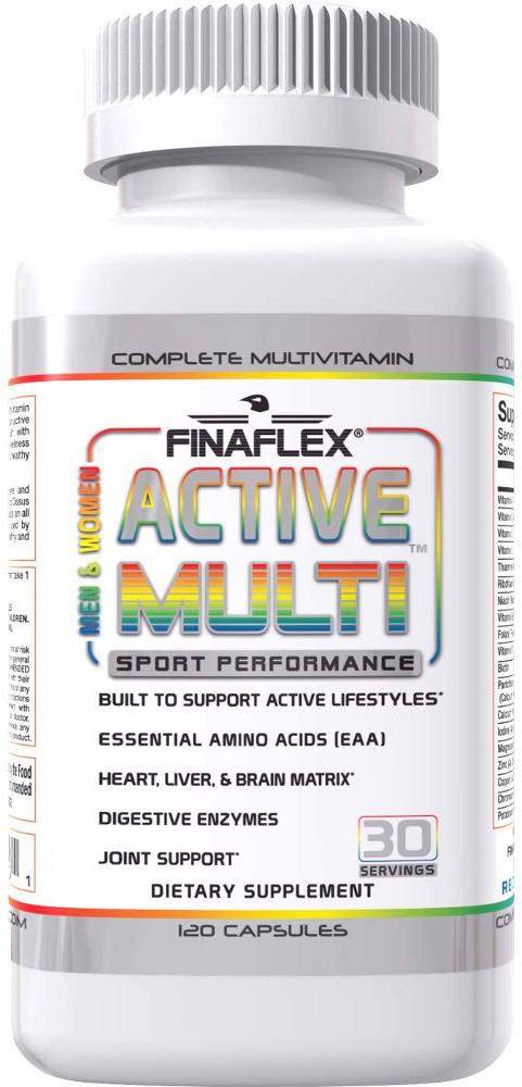 Finaflex Active Multi - 120 Capsules