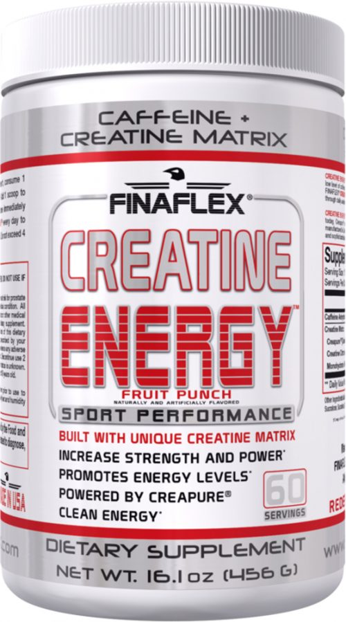 Finaflex Creatine Energy - 60 Servings Fruit Punch