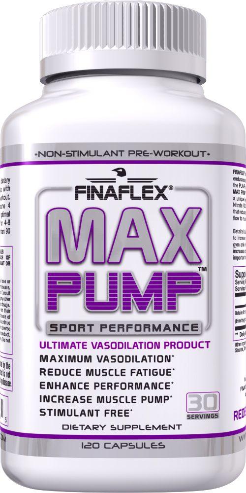 Finaflex Max Pump - 120 Capsules