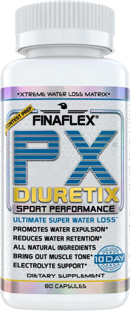 Finaflex PX Diuretix - 80 Capsules