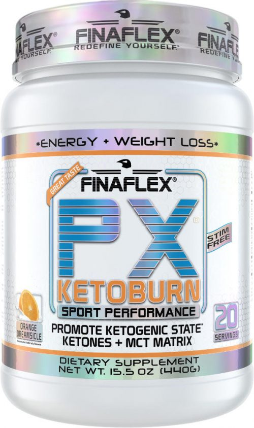 Finaflex PX Ketoburn - 20 Servings Orange Dreamsicle