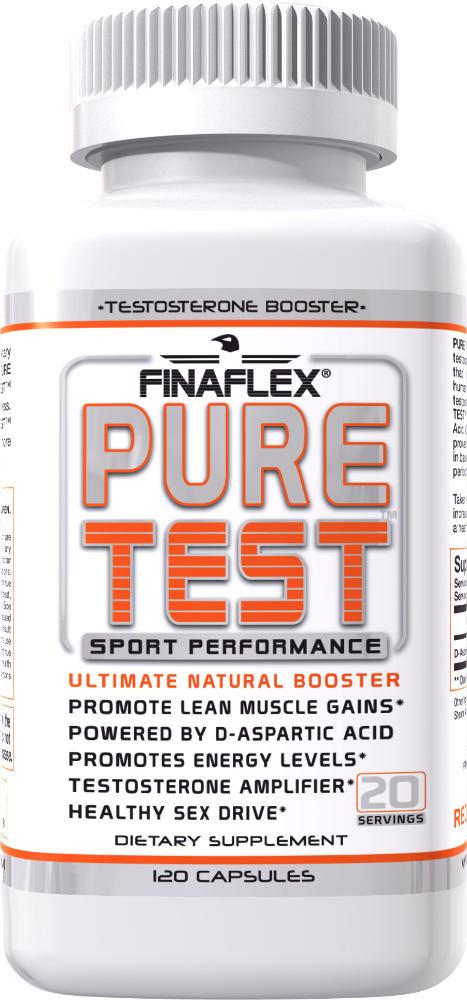 Finaflex Pure Test - 120 Capsules