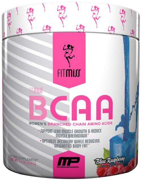 FitMiss BCAA - 30 Servings Blue Raspberry