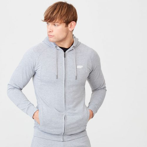 Form Hoodie - Grey Marl - S