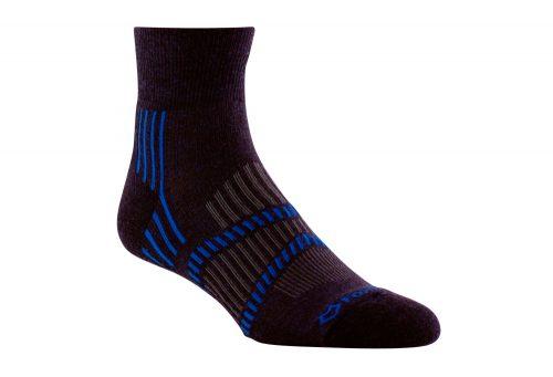 Fox River Lightweight 1/4 Crew Socks - bean blue/skydriver blue/grey, small