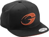 GASP No Compromise Hat - Orange/Black Hat