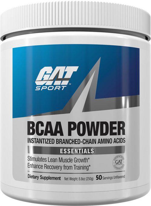 GAT Sport BCAA Powder - 250g Unflavored